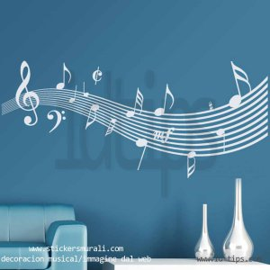 decoracion musical-stickersmurali