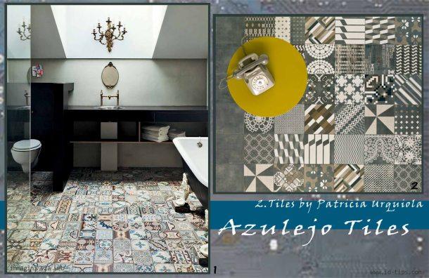bagno con azulejos