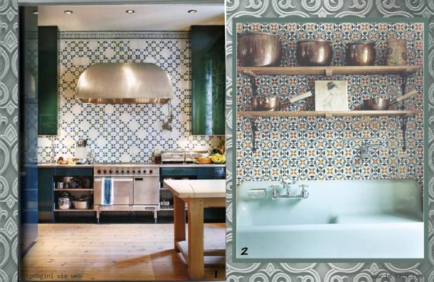 azulejos in cucina