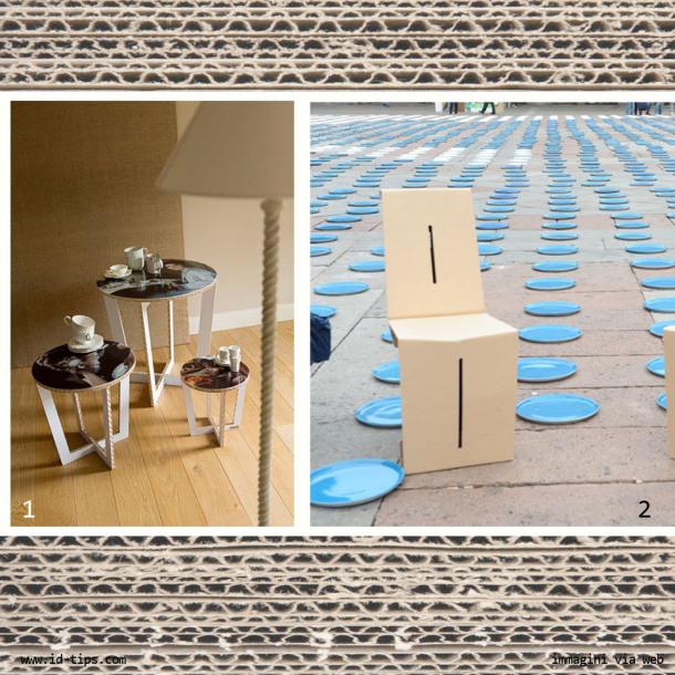 mobili di cartone