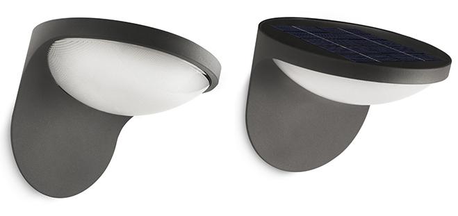 LAMPADA-PARETE-LED-PANNELLOSOLAREINTEGRATO
