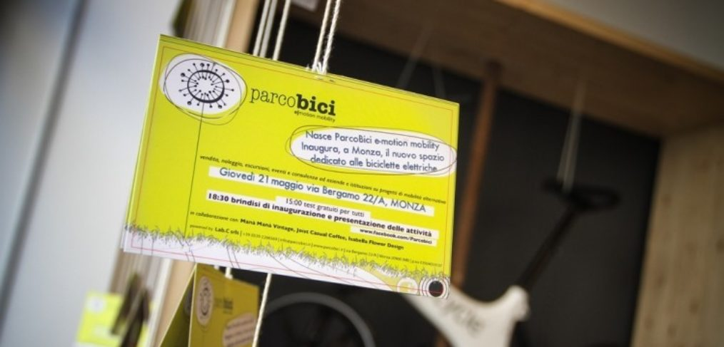 I contatti di ParcoBici, negozio di vendita e noleggio bici a pedalata assistita