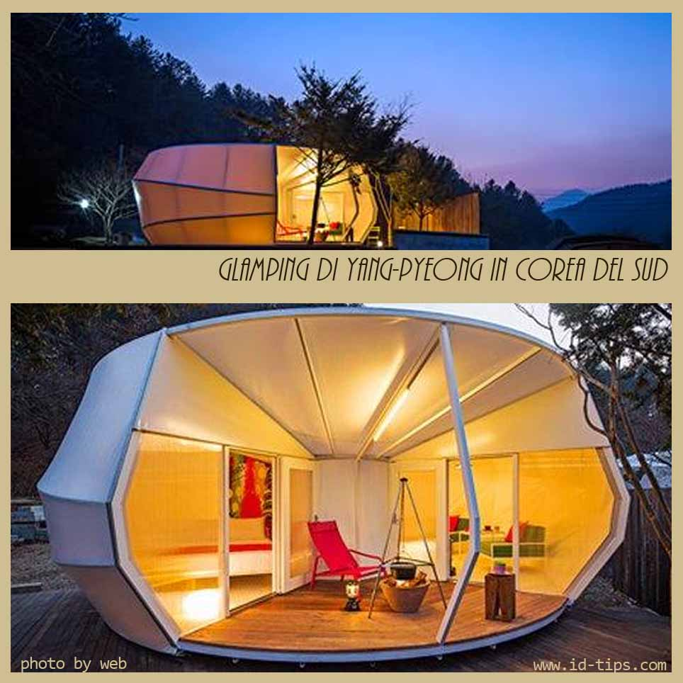 Tende glamping di design