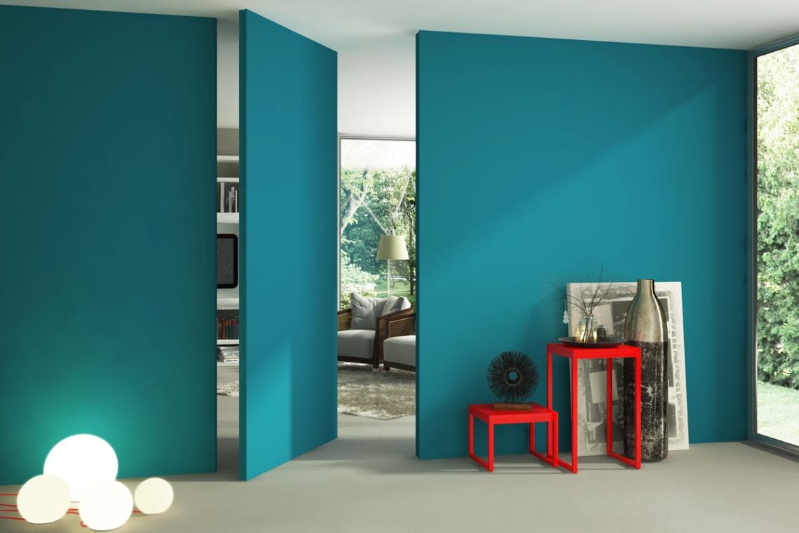 La porta filo muro minimale ed elegante - Porta filo muro prezzo ...