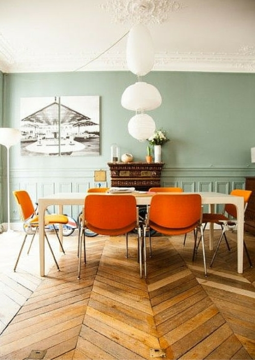 L\'arancione in casa: un colore invadente