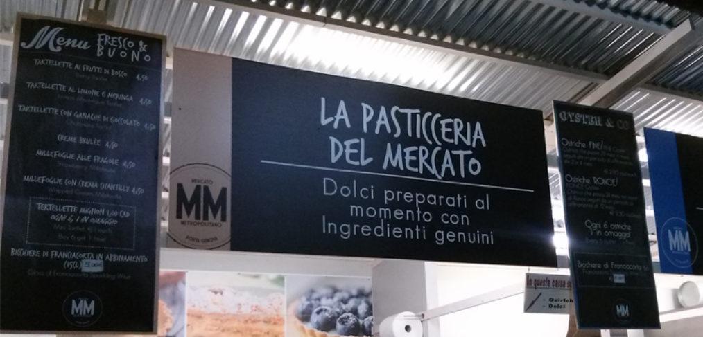 Insegne del mercato metropolitano
