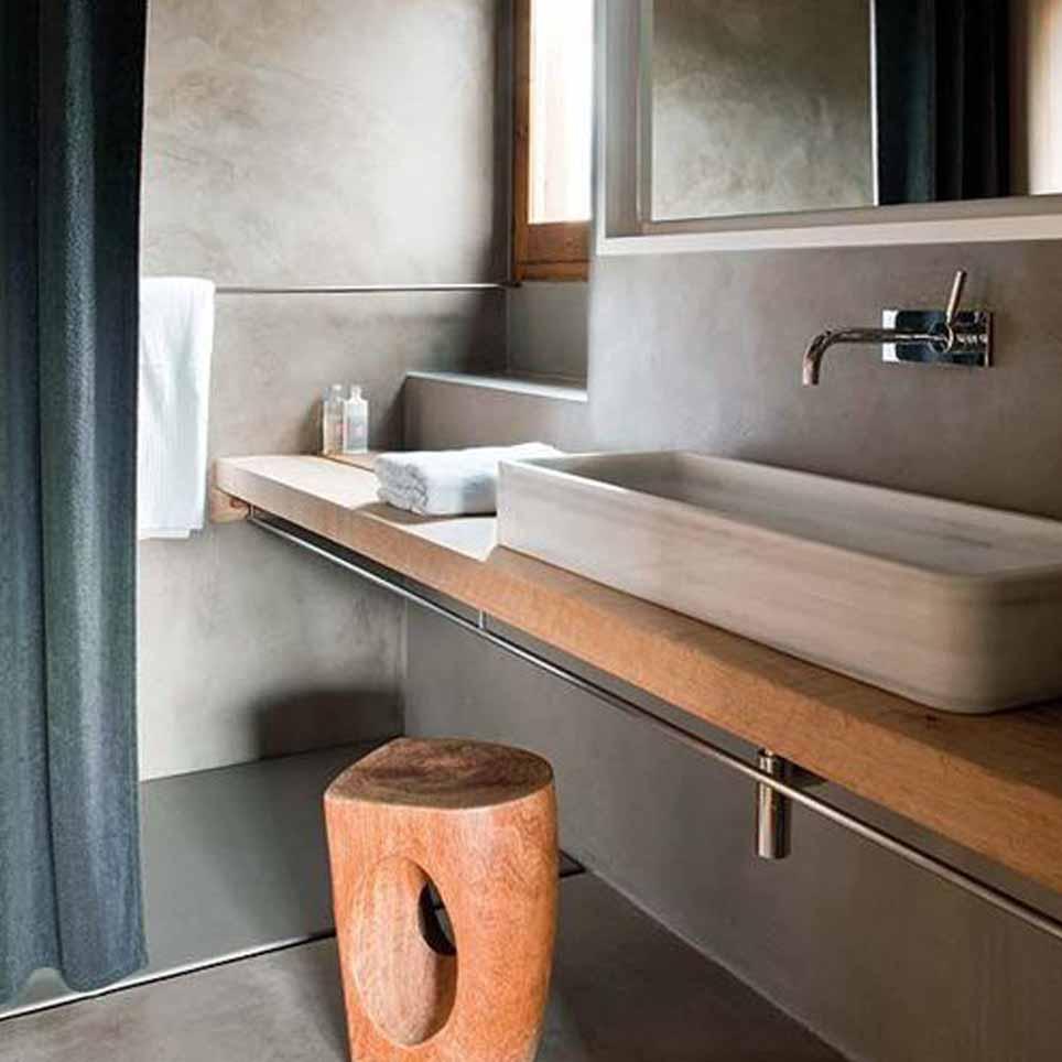 Bagno naturale benessere - Rivestimento bagno legno ...
