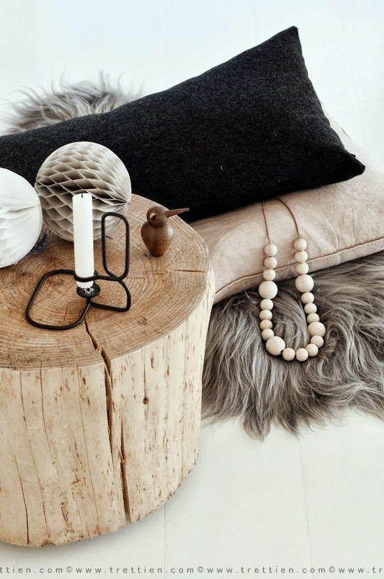 complementi in legno stile nordico