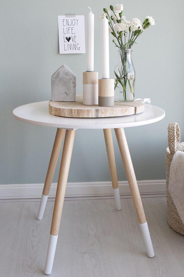 Tavolino in legno stile scandinavo Hay