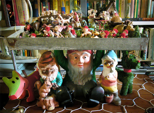 A Christmas carol: il presepe con i nani