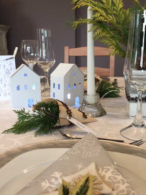 segnaposto table setting
