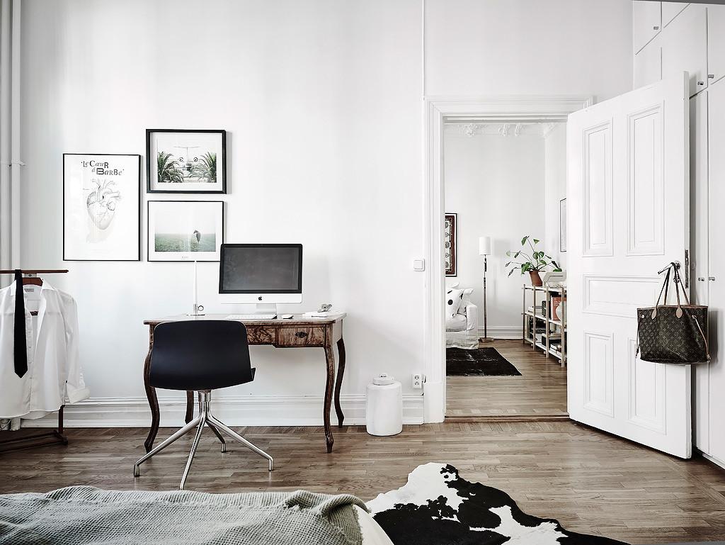 Design Scandinavo Camera Da Letto.Una Casa Scandinava Piena Di Luce