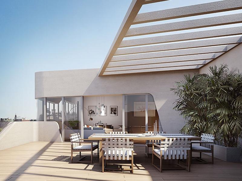 terrazza residenza architetto zaha hadid milano city life