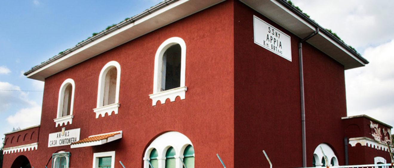 Casa cantoniera sulla via Appia