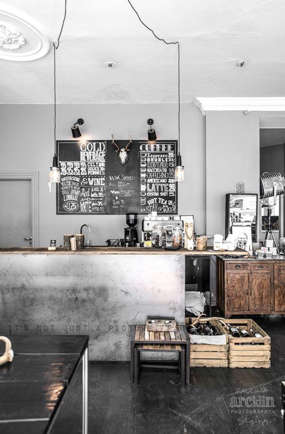 ferro e legno cucina stile industriale photo by Paulina Arcklin