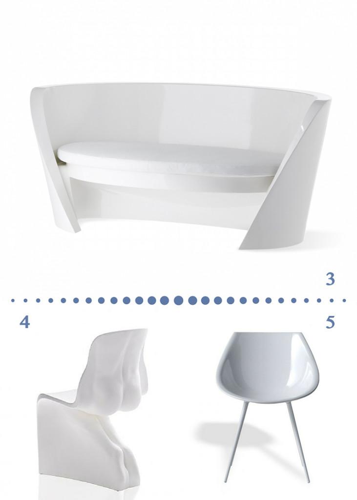 valencia arredo forme organiche divano sedie