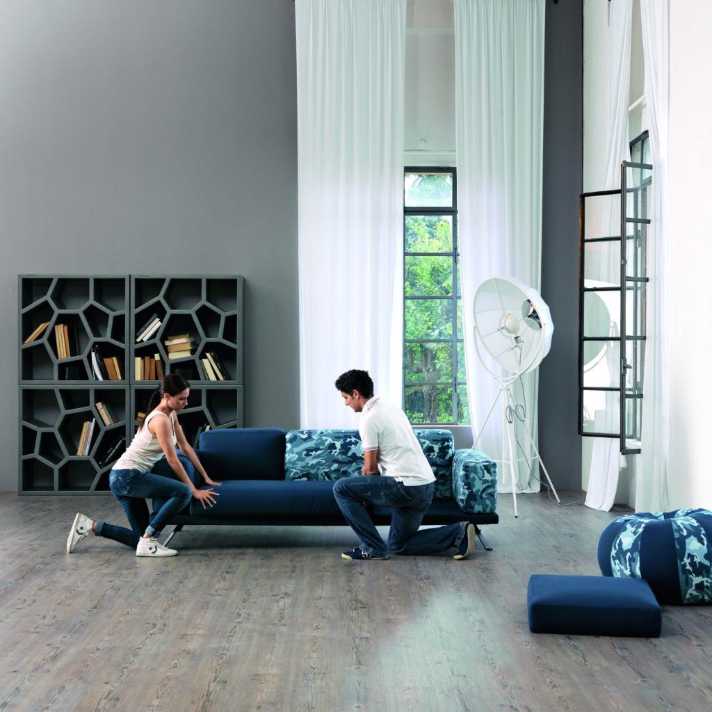 Under Doimo montaggio divano