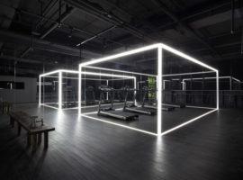 Fitness di design: Nike Studio Beijing [ Coordination Asia ]