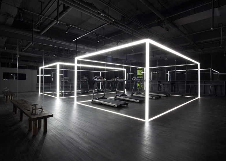 fitness Nike Studio Beijing by Coordination Asia