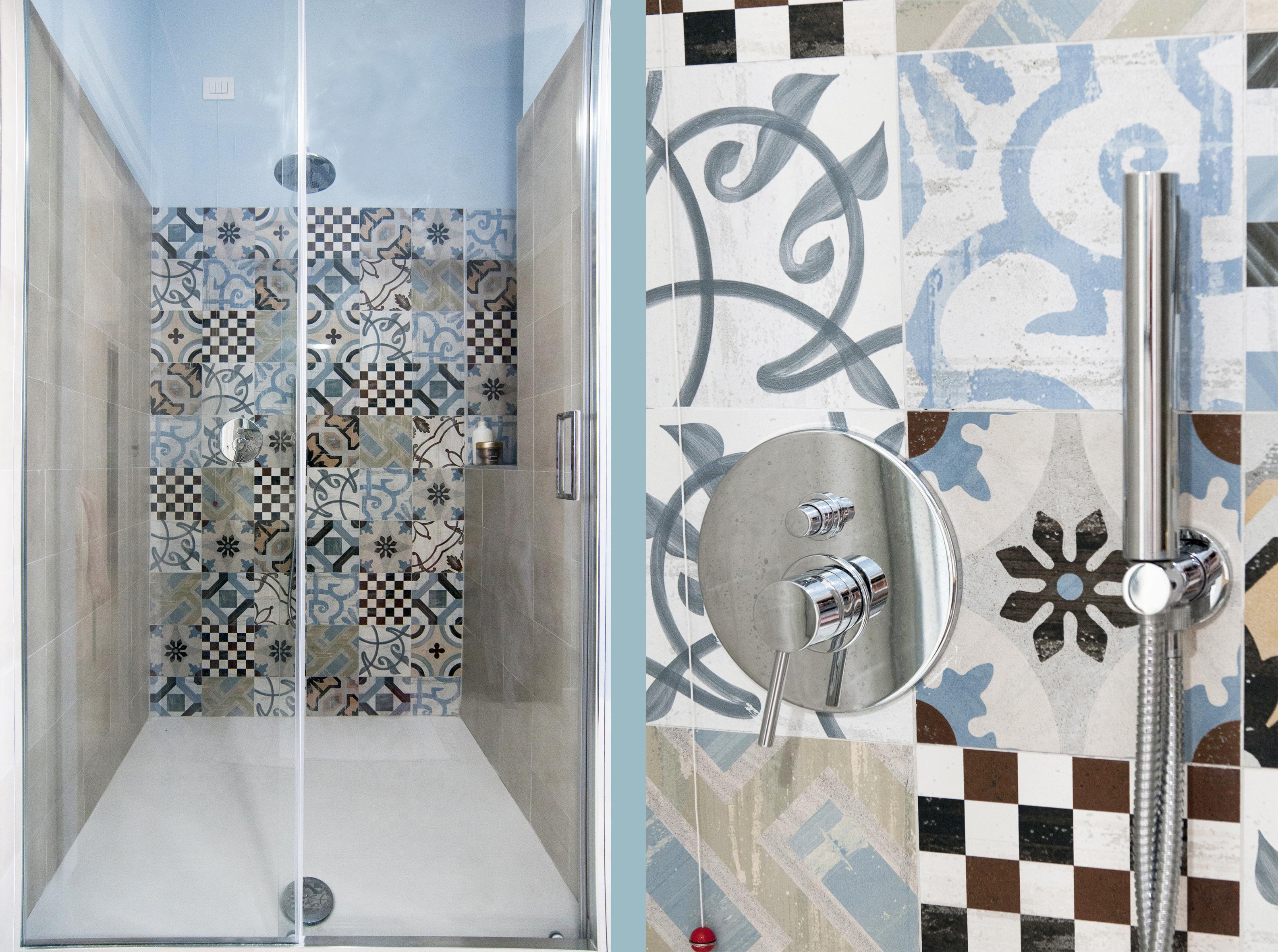 Un bagno in stile eclettico: tanti stili in un solo spazio