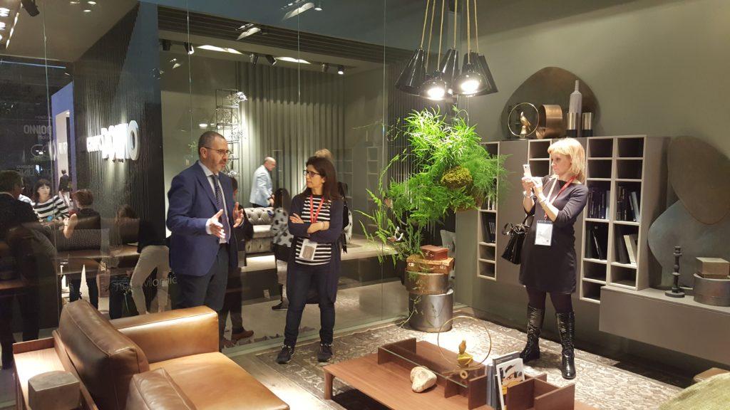 Blogger al lavoro insieme all'architetto Angelo Armanno di Doimo