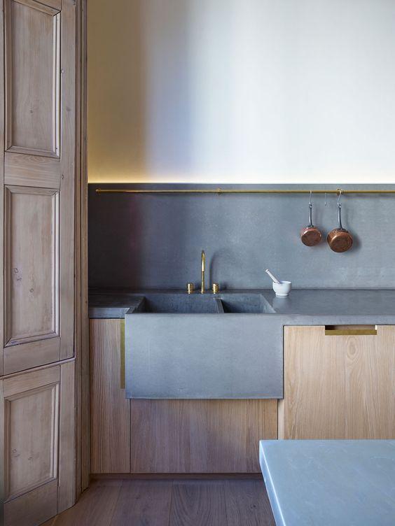Top In Cemento Amp Co E La Cucina Si Veste Di Industrial Style