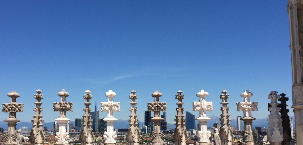 Milano dalle guglie