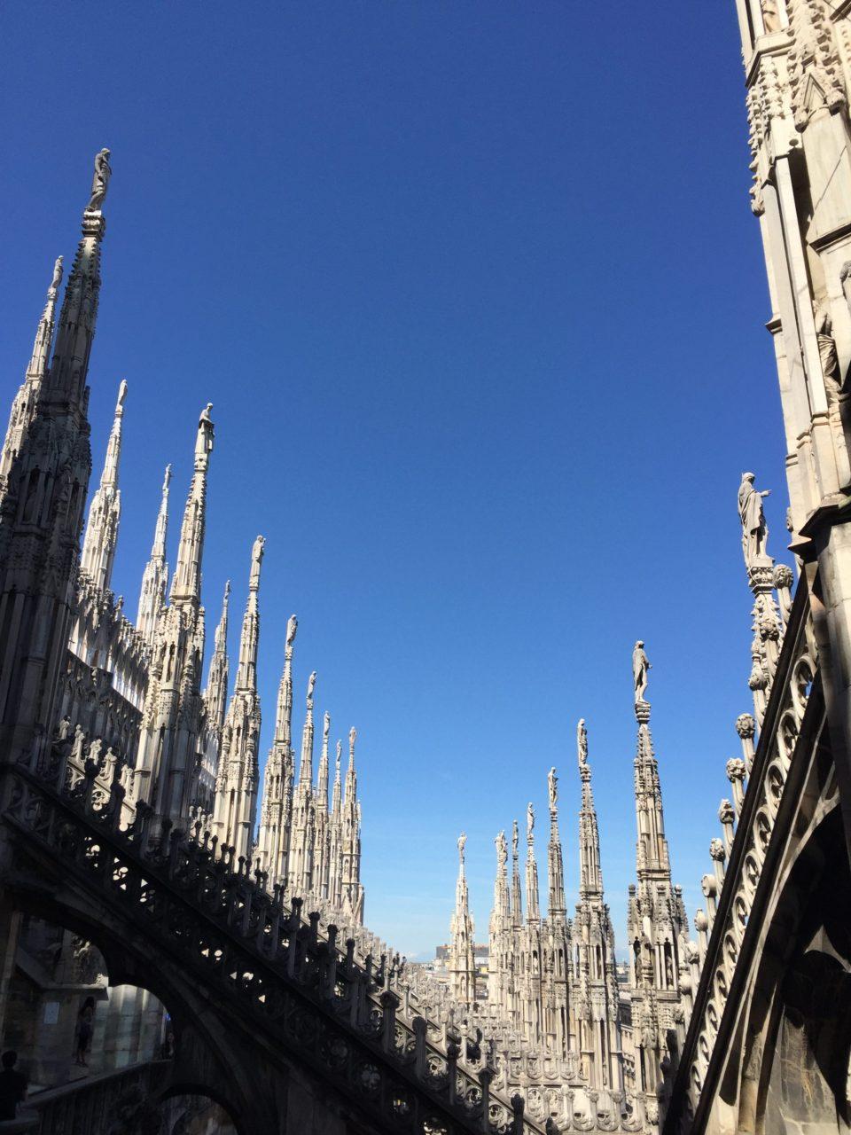 Una passeggiata tra le guglie del Duomo di Milano