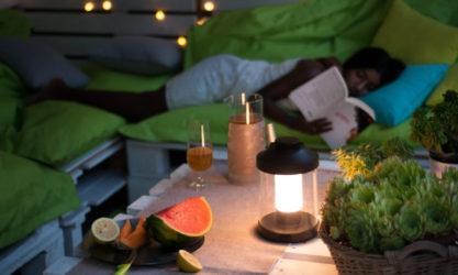 Illuminare lo spazio esterno con una lampada a LED
