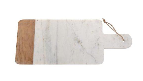 Accessori per cucine componbili economiche Conforama: tagliere legno e marmo
