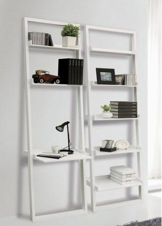 Libreria da parete Di Do con scaffali in legno