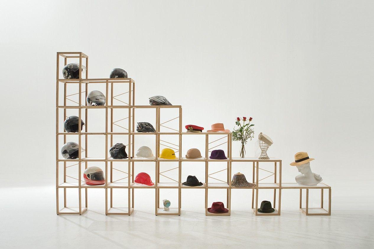 Come completare un ambiente con gli scaffali in legno - Scaffali in metallo ikea ...