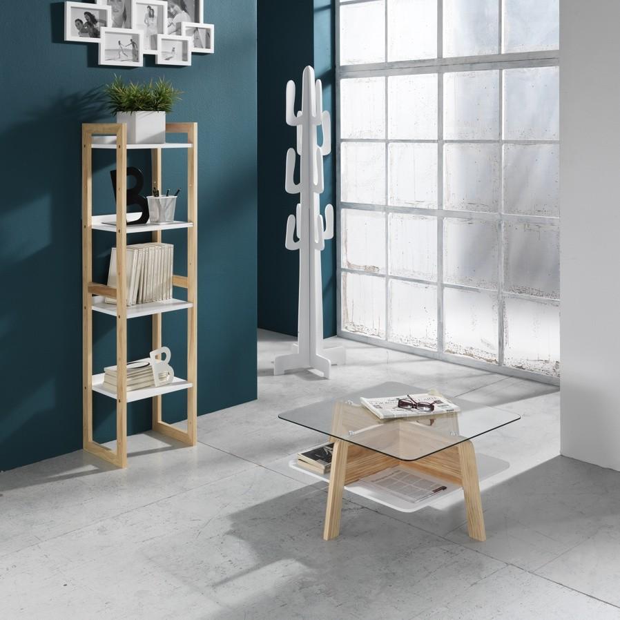 Come completare un ambiente con gli scaffali in legno for Scaffali libreria in legno