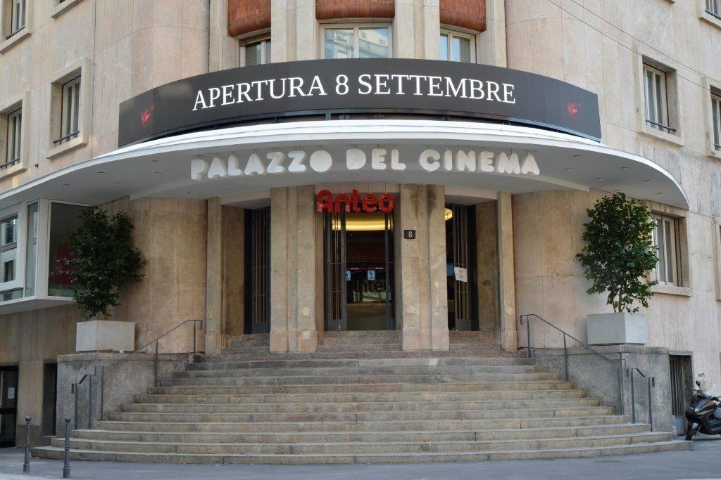 Nuovo Anteo Palazzo del Cinema Anteo ingresso