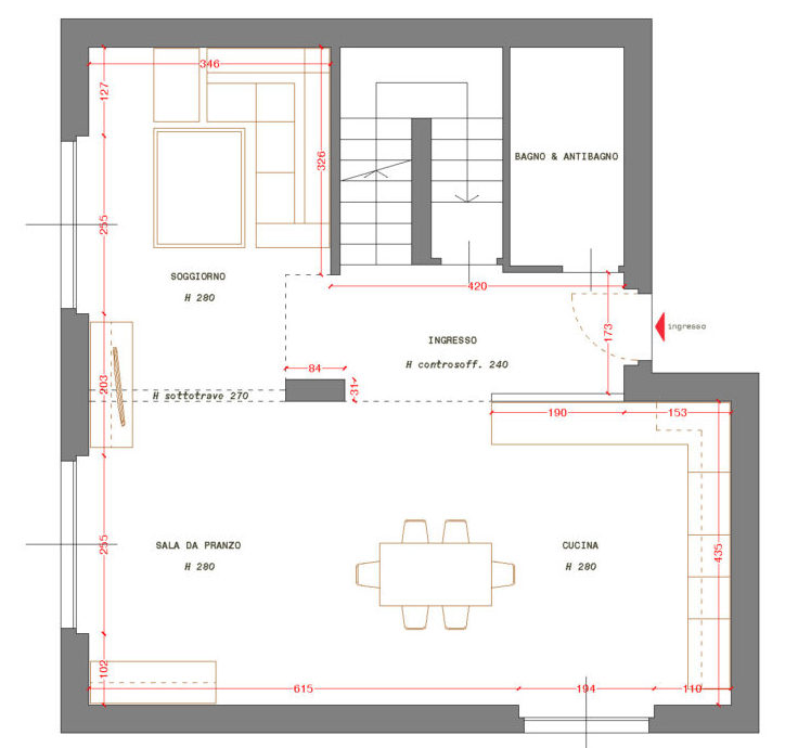Cucina e soggiorno open space come organizzare l 39 ambiente for Open space cucina e soggiorno