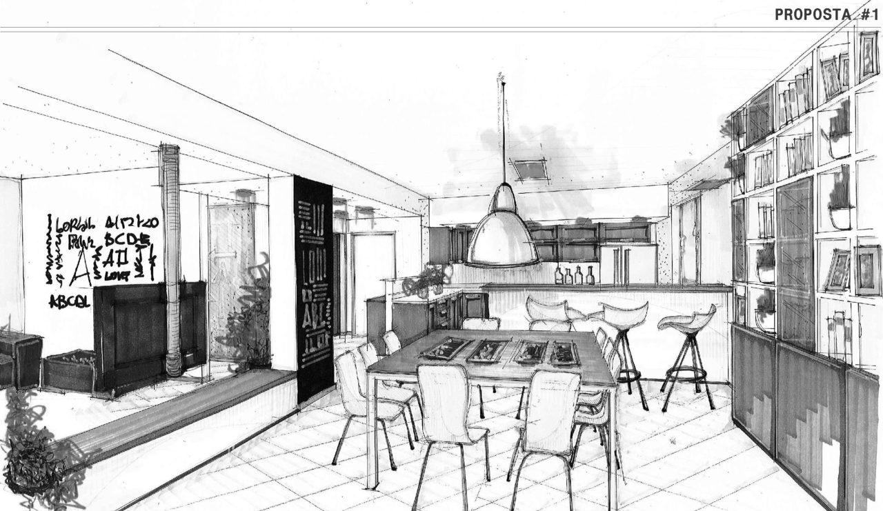 Cucina e soggiorno open space come organizzare l 39 ambiente for Piani di casa bassa architettura del paese