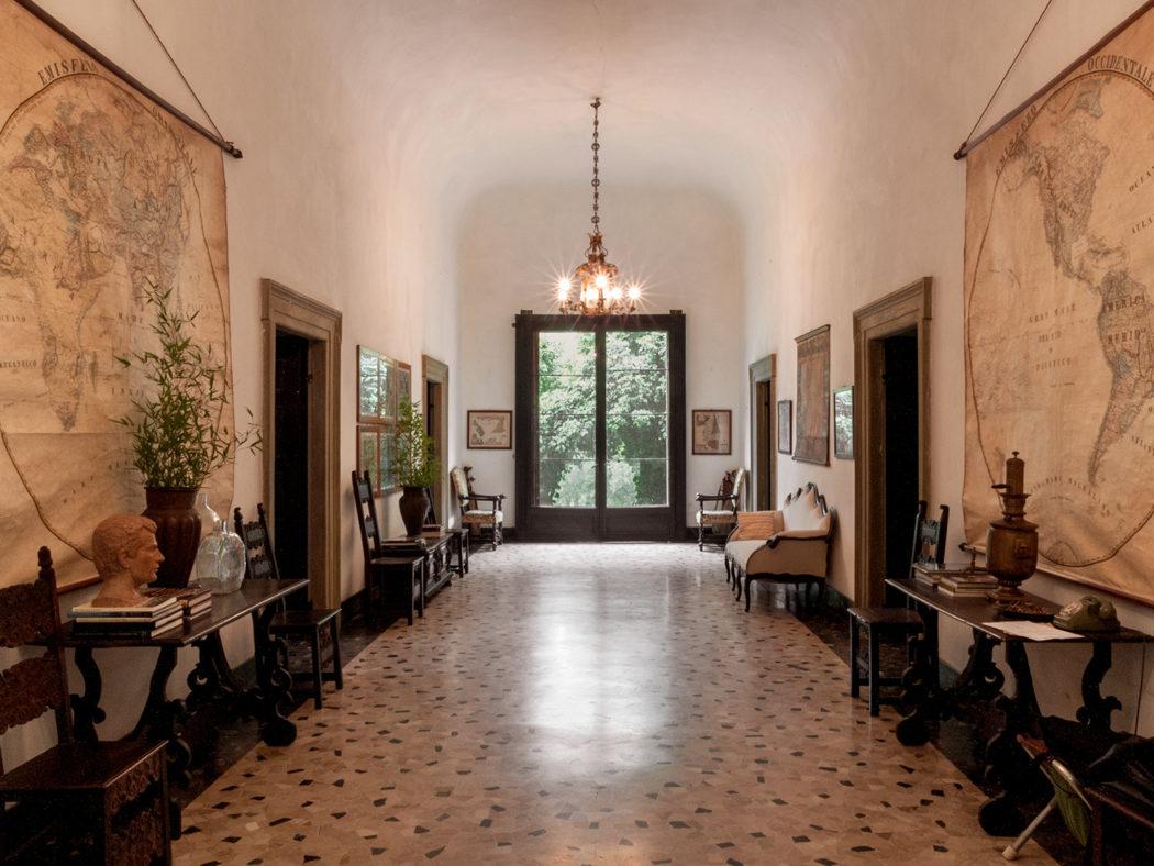 villa Albergoni ingresso