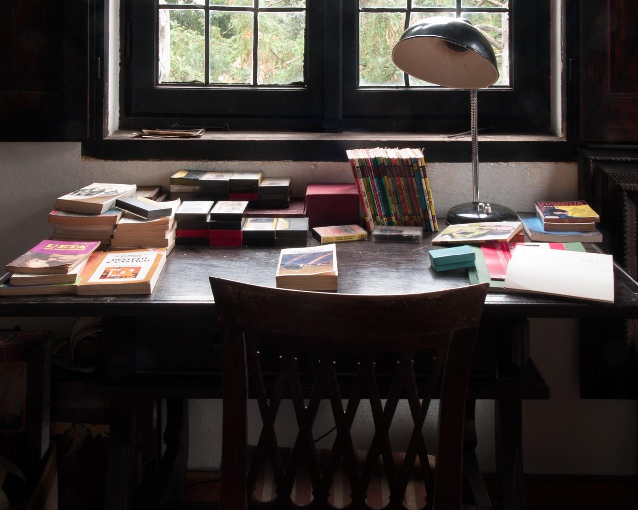 villa Albergoni scrivania cameretta