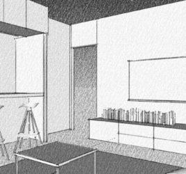 Come collegare cucina e soggiorno con una finestra